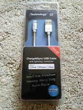 iTechnology Charge&Sync USB Cable with lightning connector. (Apple)