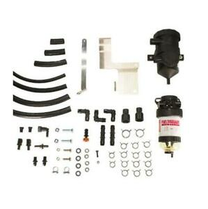 Landcruiser 70 Series PreLine Plus Pre-Filter Kit and Pro Vent Catch Can Combo