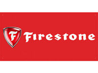 vn0893 Red Firestone Tires Sales Service Parts for Advertising Banner Sign