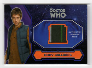 Topps Doctor Who 2015 Rory's Striped Shirt Costume Card - 2 Stripe Variant