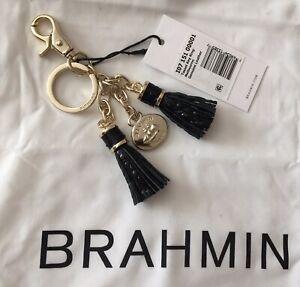 MUGL Genuine Leather tassel fringe bobble Puschel Nappa bag Dog necklace