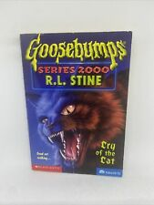GOOSEBUMPS SERIES 2000 #1 CRY OF THE CAT R.L Stine 1998 Horror