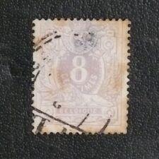 TIMBRES DE BELGIQUE : 1869/78 YVERT N° 29 Oblitéré - EN MAUVAIS ETAT