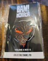 Bam! Horror Fan Art Collectible Enamel Pin Demon Bear From New Mutants/X-Men
