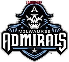 Milwaukee Admirals Ahl American Hockey League 11Th Rank Hockey Logo Sticker- New