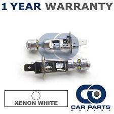 2x BIANCO 6000K H1 6 CREE ANABBAGLIANTE lampadine per Opel Astra Frontera
