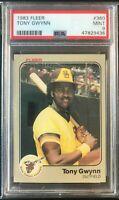 1983 Fleer Tony Gwynn Rookie Card RC #360 PSA 9 MINT San Diego Padres HOF Legend