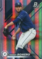 2019 BOWMAN PLATINUM RC TOMMY ROMERO TAMPA BAY RAYS ROOKIE - A574
