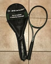Vintage Dunlop John McEnroe Competitor Tennis Racket And Case