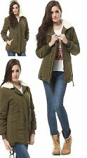Unbranded Cotton Blend Parka Coats & Jackets for Women