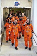 STS-107 Space Shuttle Kolumbien Crew Nasa 8x12 Silber Halogen Fotodruck