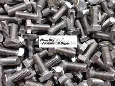 (10) M10-1.5x25 Stainless Steel Hex Head Cap Screws / Bolts 10mm x 25mm