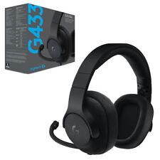 Logitech G433 Black Headband Headsets for PS4