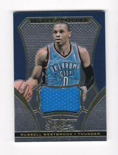 2013-14 NBA Select SWATCHES Patch Card - Russell Westbrook, Thunder