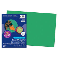 Pacon Corporation - Sunworks 12x18 Holiday Green Construction Paper - 50 Sheets