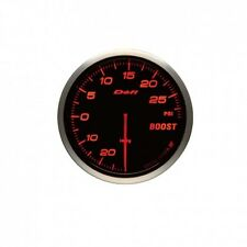DEFI ADVANCE BF AMBER 60MM 30PSI BOOST GAUGE IMPERIAL