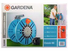 GARDENA Classic (02650-20) Wand-Schlauchtrommel 60 mit Schlauchführungsrolle NEU