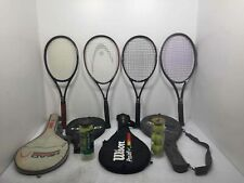 2 Head 2 Wilson Tennis Raquets With Covers and 2m Sleeves of Tennis Balls