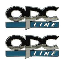 Schriftzug 2x Opel OPC Line Astra G+H+J+Corsa D+Tigra+Vectra Tuning Emblem Logo