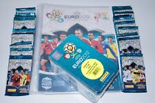 Panini em Adrenalyn XL euro 2012-cuaderno + 50 OVP Booster + embalaje orig. Tin