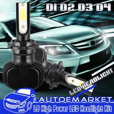 2PCS D2S LED Headlight for Nissan Altima 2007-2015 Maxima 2009-2014 Low Beam