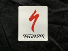 """SPECIALIZED BICYCLES 3""""DECAL WHITE"""