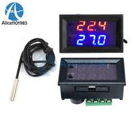 W1209WK DC 12V Digital thermostat Temperature Control Sensor 1% 3950 Probe Cable