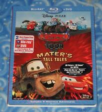 Disney Pixar Cars Toon Maters Tall Tales BLU-RAY and DVD Combo Pack Excellent