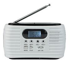 DINAMO Solare FM/AM Radio d'emergenza torcia elettrica mp3 Lettore & Cellulare Caricabatterie come