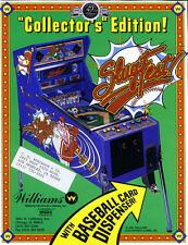 Slugfest Williams Pinball chip upgrade l-1 commercial