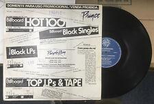 """PRINCE/THE TIME """"Purple Rain/Ice Cream Castles"""" Brasilian Promo 12"""" Funk Single"""