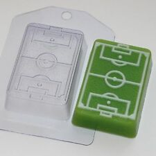 """Soccer field"" football plastic soap mold soap making mold mould"