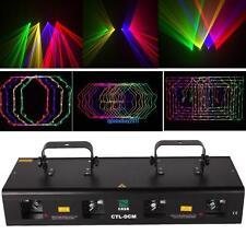 RGPY 4 Lens 360mW DMX DJ Laser Stage Light Club Party Lighting Show Disco