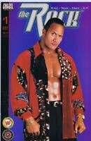 The Rock WWF WWE #1 ORIGINAL Vintage 2001 Chaos Comics