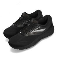 Brooks Addiction 14 4E Extra Wide Black Grey Men Running Shoes Runner 110317 4E