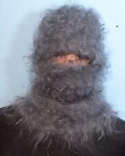 "Hat Balaclava Sweater Mohair 100%Goat Down Organic turtleneck Fetish ""D.Tolik"