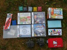 Joblot 2 x NINTENDO DS, 10 Games, Herbie, Spongebob, Band Hero, Mario, My Sims