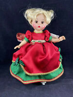 """Madame Alexander Accessories Original Christmas Dress outfit for 8"""" doll Wendy"""