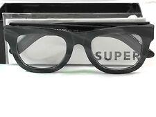 New Super Retrosuperfuture 06X Ciccio Optical Black Sunglasses Size 50mm