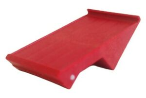 Playmobil 4324 Spares Replacement Piece 30200892 Red Plastic Small Roof Edge