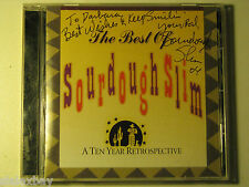 THE BEST OF SOURDOUGH SLIM 10 Year Retrospective SIGNED by Slim CD 2002 Whoopee