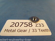 EE 20758 NEW Marklin HO Metal Gear Z33 0.548 Inches Diameter 207580 33 Teeth NEW