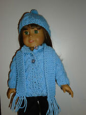"""3 Piece sweater set for American Girl or any 18"""" doll"""