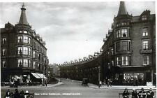 West End Road  caption Sea View Parade Morecambe unused sepia RP old pc Good