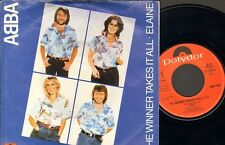 "ABBA The Winner Takes It All  SINGLE 7"" 1980 ELAINE"