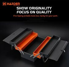 Harden 5 Tray Cantilever Toolbox Portable Storage Mechanic Tool Box