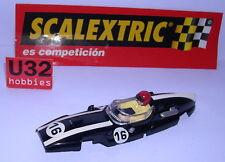 SCALEXTRIC SPAIN ALTAYA COCHES MITICOS  CARROCERIA COOPER CLIMAX F1 #16