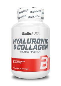 BiotechUSA Hyaluronic & Collagen 30 Kaps.