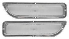 NEW Parking Light Lens PAIR / FOR 1962-66 GMC PICKUP TRUCK & SUBURBAN / A9834