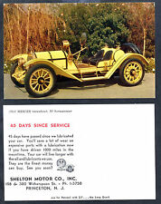 1913 Mercer Raceabout-Antique Model Advertising Card/Princeton, New Jersey
